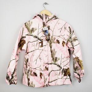 🆕️ Realtree Storm Seeker Pink Camo Rain Jacket